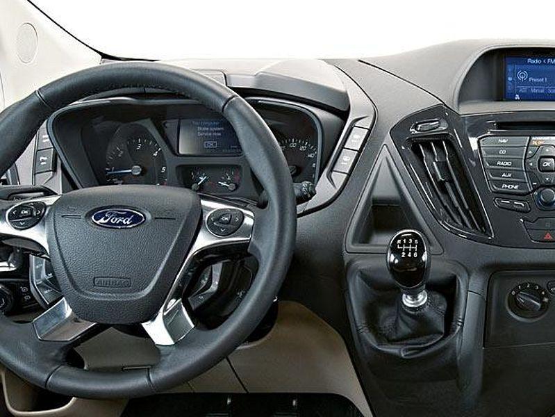 Bestattungswagen Ford Transit Custom Ein Alleskonner