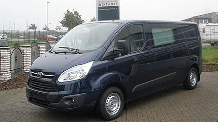Ford Transit Custom Blau-Metallic
